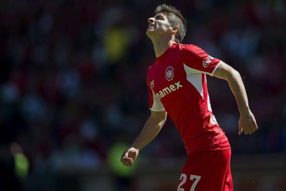 """El delantero del """"Toluca"""" hizo un recorte de más dentro del &aacu..."""