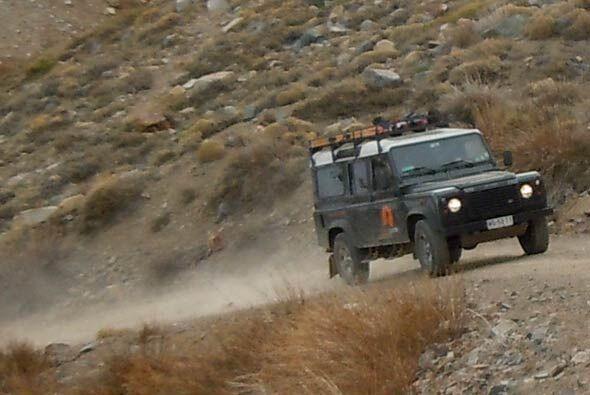 La Defender es famosa alrededor del mundo por sus capacidades off-road.