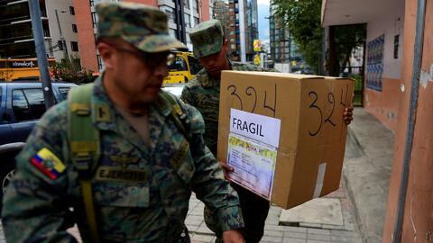 Ecuador, a pocas horas de elegir al sucesor del presidente Rafael Correa