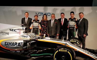 El nuevo Force India que manejará 'Checo' Pérez ya es una realidad