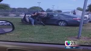 Denuncian exceso de fuerza policial en Miami