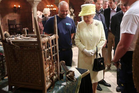 Los mandatarios británicos no hicieron solos esta visita por Poniente, e...