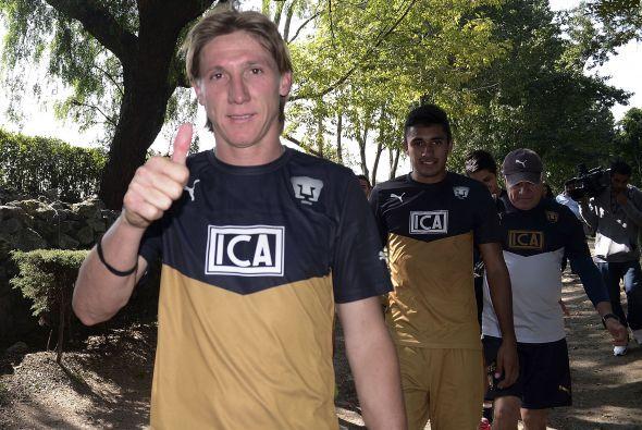Leandro Augusto está de regreso en el conjunto universitario donde vivió...