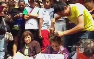 Trasquilan a maestros de Chiapas por no participar en paro
