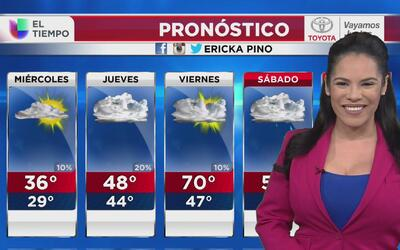 Un sistema de mal tiempo podría causar precipitación en Chicago