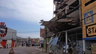 El violento sismo de la noche del martes destruyó unas dos mil 500 vivie...