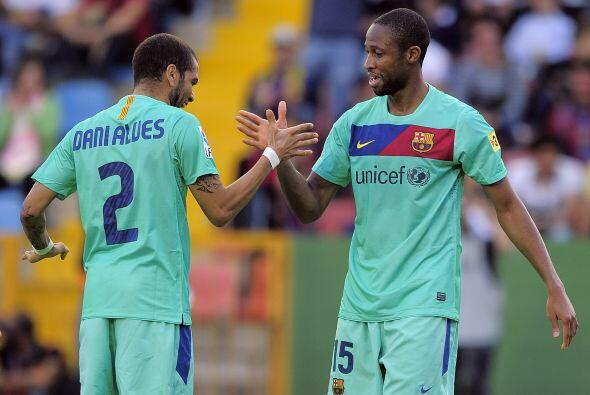 No hubo más goles y el empate no cambió, pero Barcelona logró su tercera...