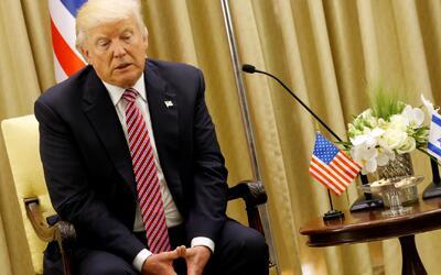 Trump promete a Israel que Irán nunca tendrá armas nucleares durante su...