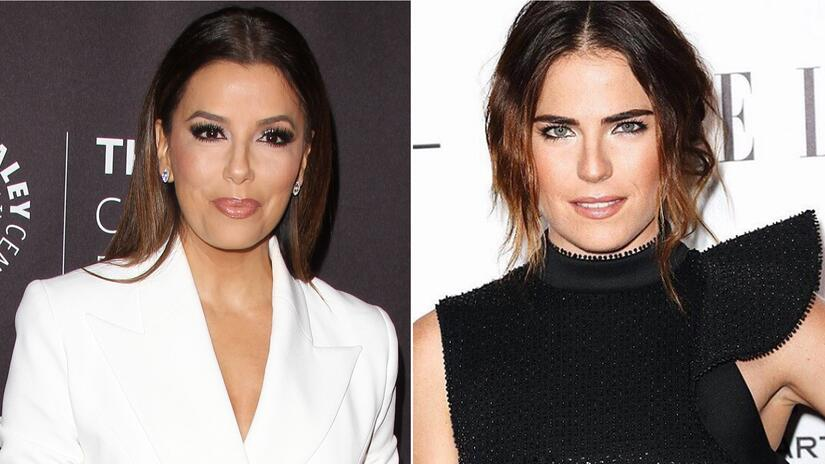 Eva Longoria y Karla Souza opacaron el look de Vanessa Hudgens