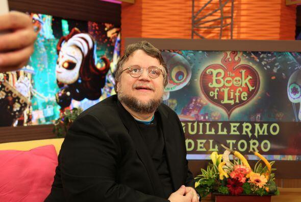 Guillermo aprovechó la oportunidad para hablar de su nueva película anim...