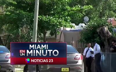 'Miami en un Minuto': propietario de una casa baleó mortalmente a un suj...