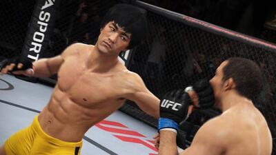 La experiencia de Lee en videojuego junto a la UFC.