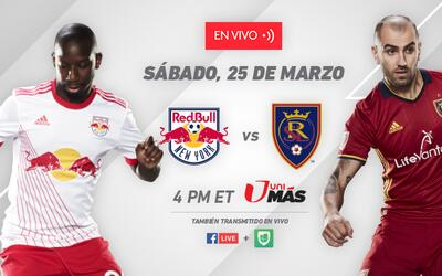 New York Red Bulls vs Real Salt Lake - App image