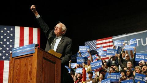 Sanders define momentum con su victoria en Wisconsin