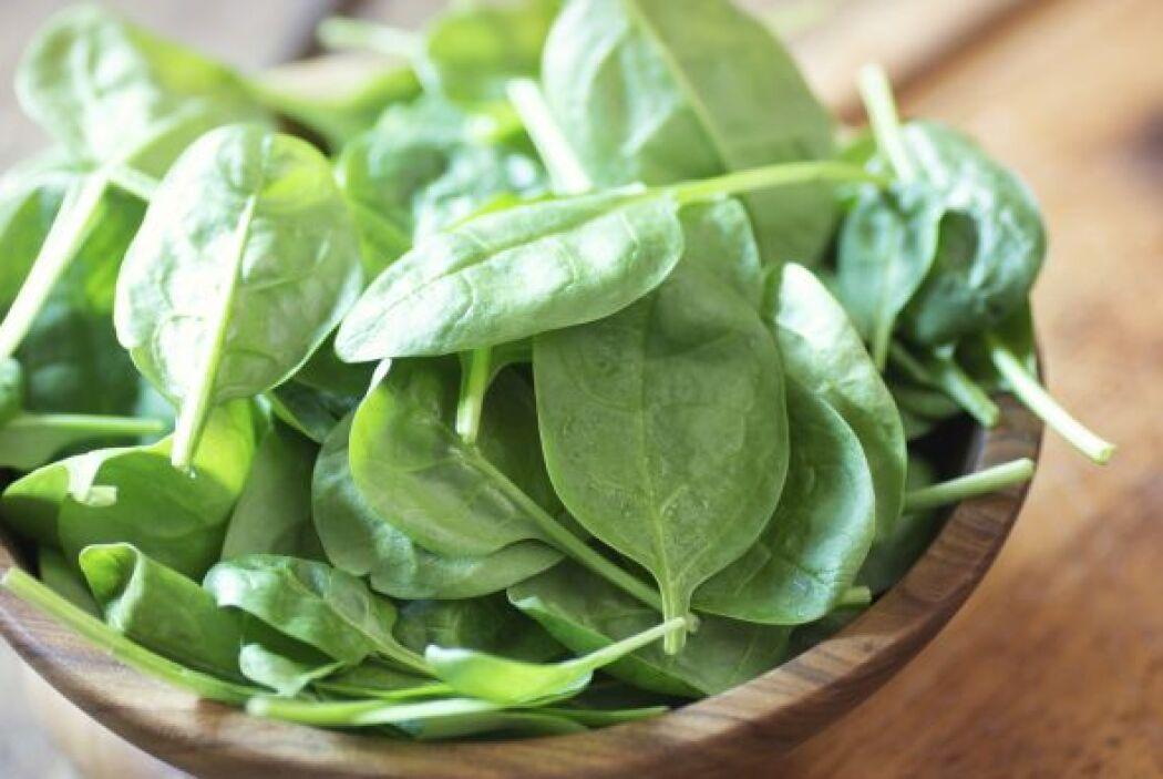 .Espinaca La espinaca es una maravillosa fuente de hierro, ácido fólico,...