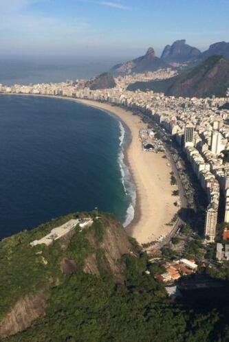 Las playas de Río de Janeiro son una experiencia completamente diferente...