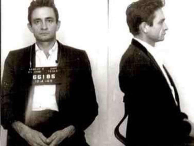 Johnny Cash fue detenido en un aeropuerto en 1965 por posesión de píldor...