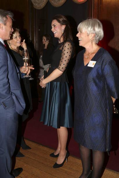 Kate Middleton reconoció a niño solidario