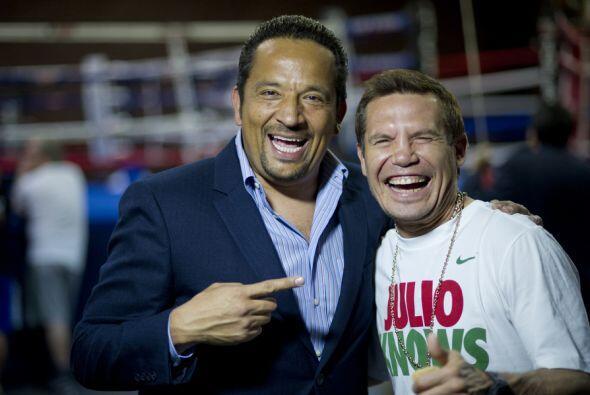 El entrenamiento de Julio César Chavez Jr. con entrevistas exclusivas de...