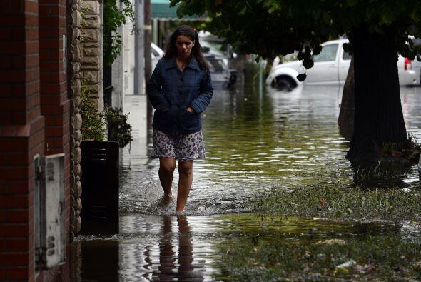 La presidenta argentina, Cristina Fernández, se desplazó primero a La Pl...