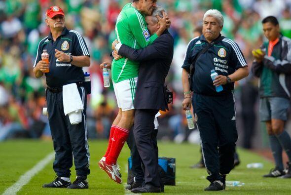 Javier 'El Vasco' Aguirre era el DT y la relación entre ambos era...