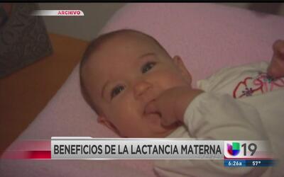 La leche materna podría proteger a su bebé de infecciones y alergias