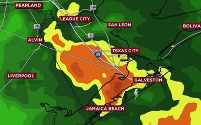 Servicio Nacional de Meteorología emite aviso por tornado en el condado...