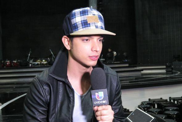 Poyato en entrevista con Uvideos.