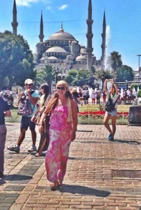 De paseo por Estambul. ¡Qué magnífica vista!