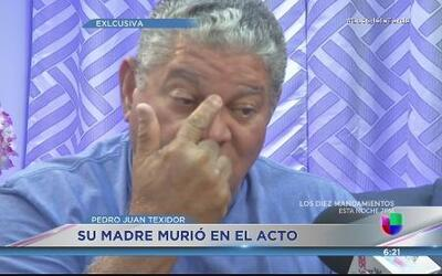 Pedro Juan Texidor asegura no descansará hasta que den con el culpable