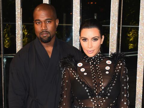 Fotos de Kim Kardashian y Kanye West