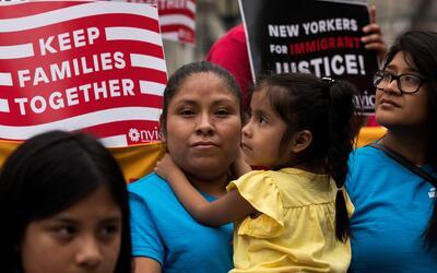 En Estados Unidos hay unos 5 millones de niños ciudadanos con uno...