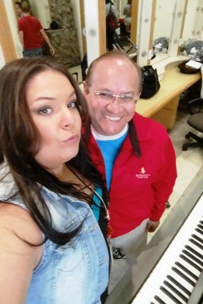 Grandes mis profesores de canto, los amo muchísimo. #Aprendiendo #YazaPo...