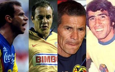 10 futbolistas históricos del América