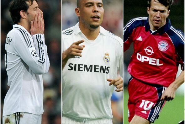 Muchas figuras del fútbol han jugado la Champions League, pero no todos...