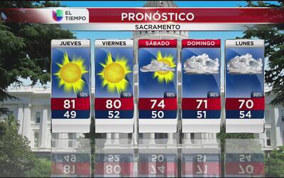 Empieza a bajar la temperatura en California
