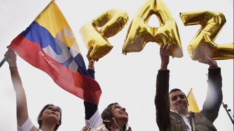 Colombianos se preparan para votar por la paz