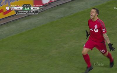 Giovinco abrió el marcador para el Toronto ante el Philadelphia Union