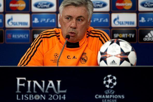 Ancelotti se notaba más serio, sabe el compromiso que tiene para...
