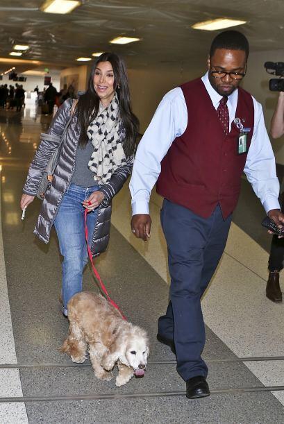 ¡Rocelyn Sánchez y Eric Winter no salen sin su perro!