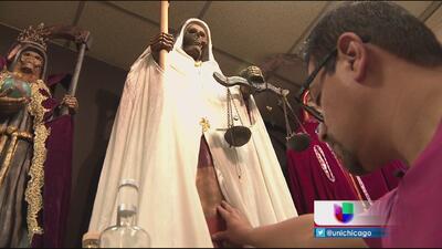 Culto a la Santa Muerte en Chicago