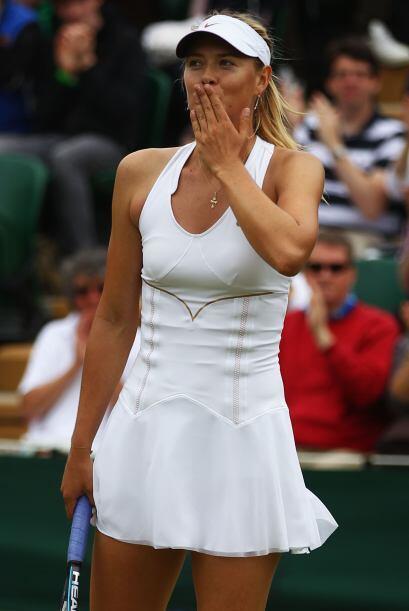 Sharapova es una de las grandes favoritas para llevarse el título de est...