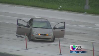 Tiroteo en la I-95 provocó caos vehicular