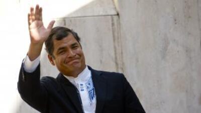 El presidente de Ecuador, Rafael Correa, buscará reelegirse.