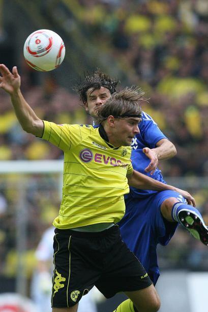 No pasaron muchos minutos para que el Leverkusen tomara la ventaja.