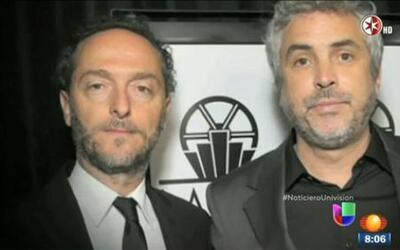 México celebra triunfo de Alfonso Cuarón como mejor director en los prem...