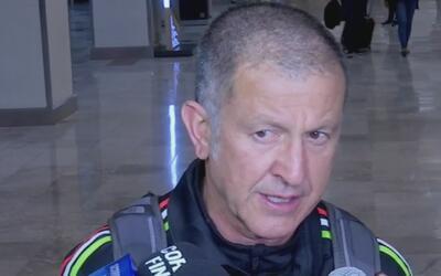"""Osorio, en su llegada a México: """"Le dedicamos estos seis puntos a toda l..."""