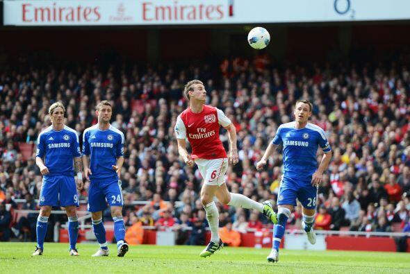 Arsenal siguió buscando el arco y volvió a quedar cerca co...