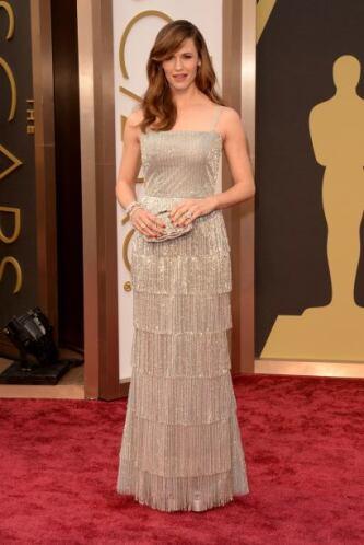 Otra que por desgracia entró en la lista de las peores vestidas fue Jenn...
