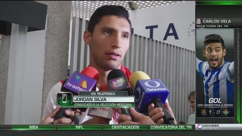 Jordan Silva confesó que hasta a él lo sorprendió su convocatoria al Tri